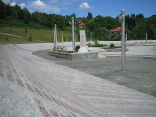 Potočari, memorijalni centar